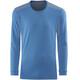 Norrøna Falketind Super Wool Bluzka z długim rękawem Mężczyźni niebieski